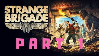 Strange Brigade Solo Gameplay on Xbox One X Part 1 {xbox game pass}