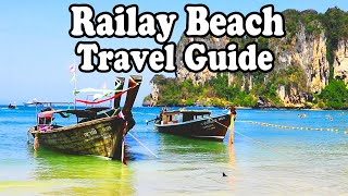 Railay Beach Thailand | Nightlife, Beaches, Activities and Food. Part 1. Railay Beach Krabi Thailand