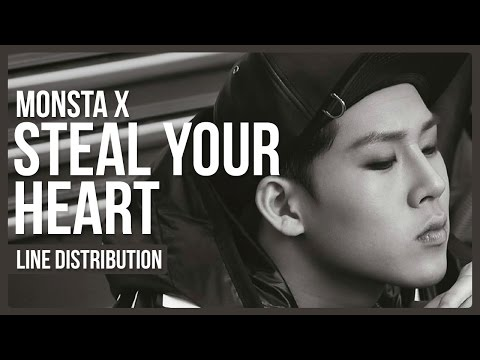 Monsta X - Steal Your Heart Line Distribution (Color Coded)