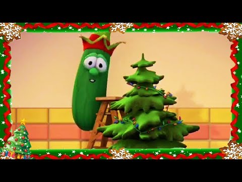 Veggietales Full Episode Merry Larry and The True Light of Christmas  Christmas Cartoons For Kids