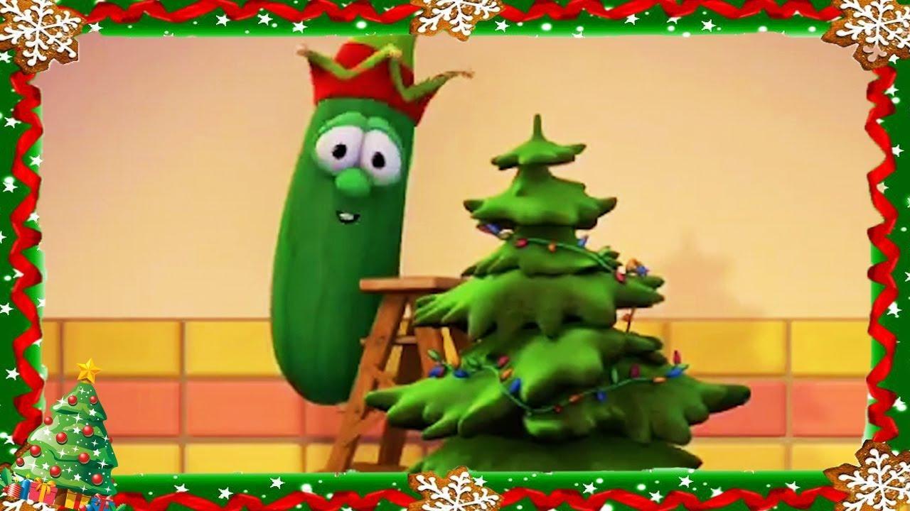 Veggietales Full Episode 🎄Merry Larry and The True Light of Christmas 🎄 Christmas Cartoons For Kids