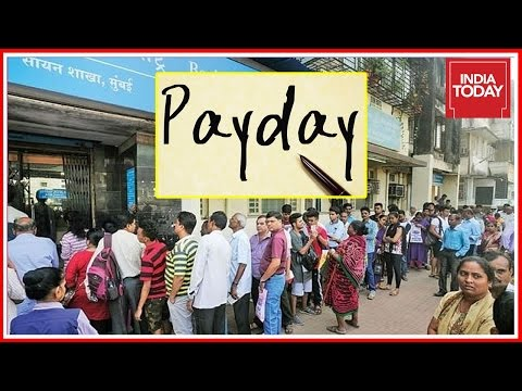 Cash Chaos On First Pay Day After Demonetization Move