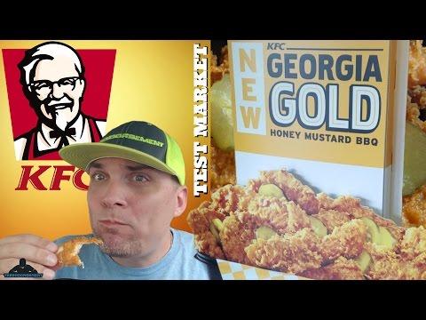 KFC® - GEORGIA GOLD HONEY MUSTARD BBQ CHICKEN REVIEW #310