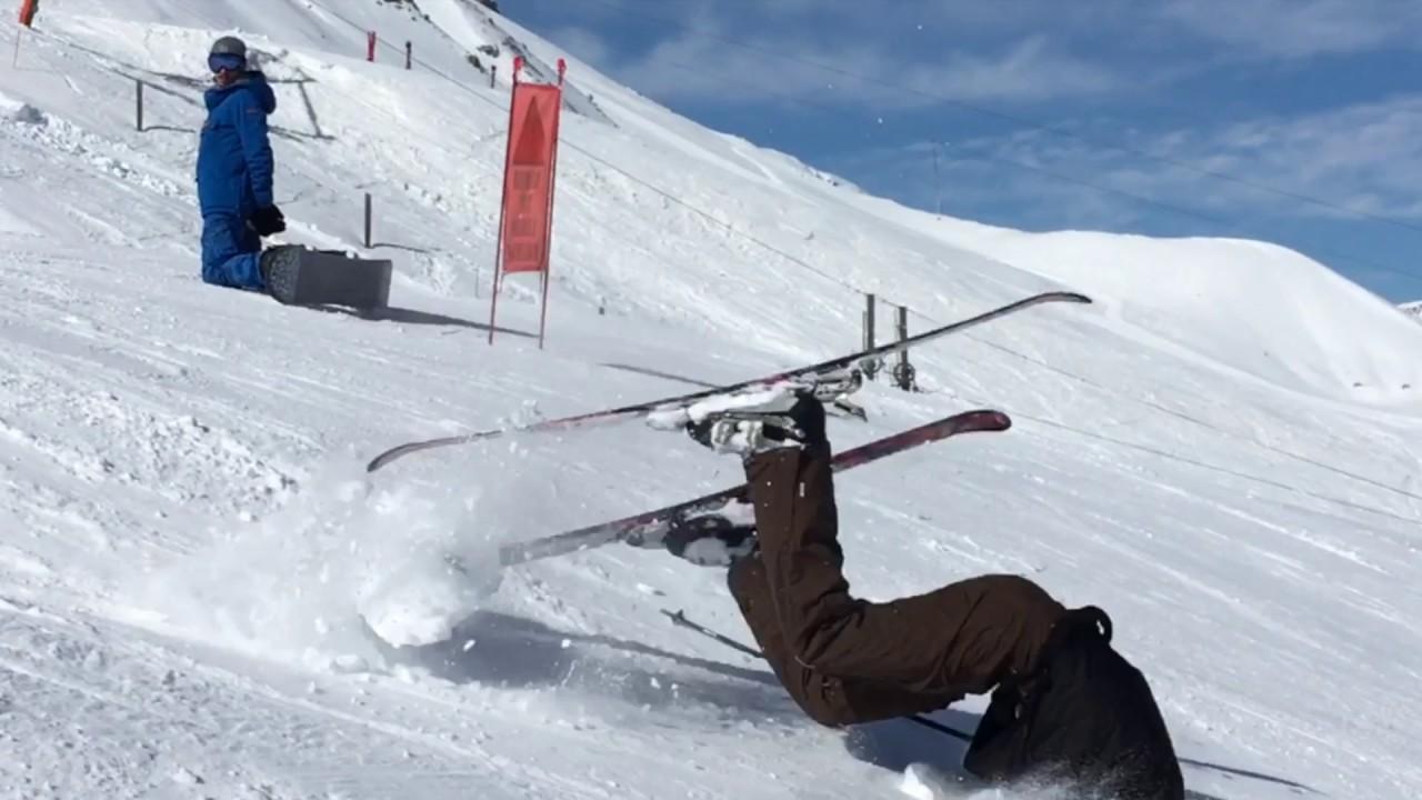 Chute A Ski De Type Humour Qui Finit Bien Lol Mdr Haha Youtube