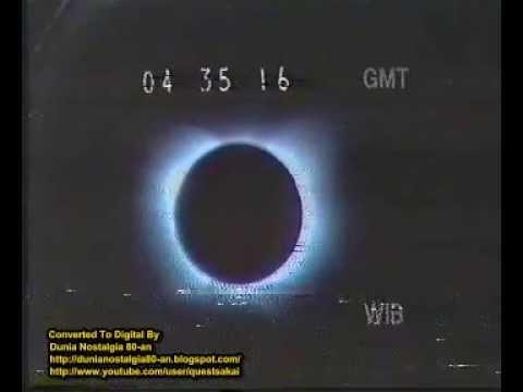 Siaran Langsung TVRI: Gerhana Matahari di Indonesia 11 Juni 1983