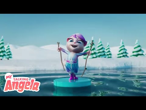 Winter Princess Dance 👸 NEW Game Update In ❄️My Talking Angela (TRAILER)