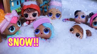 LOL SURPRISE DOLL Jessie Loves Winter Song!