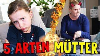 5 ARTEN von MÜTTERN 😂 Räum' selber auf! Lulu & Leon - Family and Fun