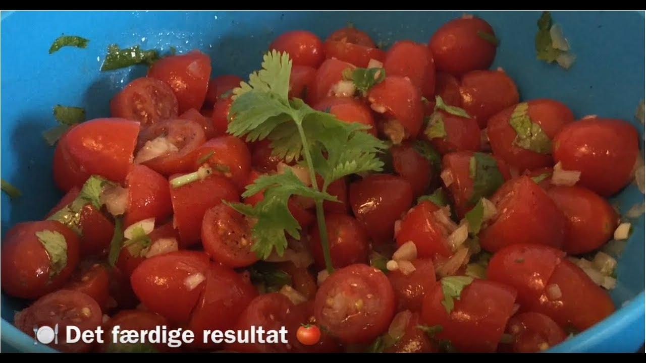 Mad I Trin // Hjemmelavet tomat salsa