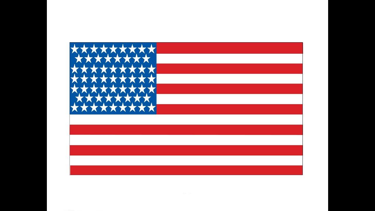 как нарисовать флаг видео