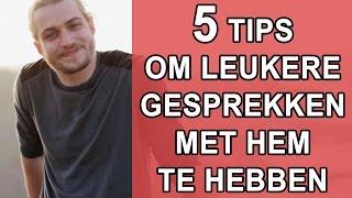 5 Tips Voor Leuke Gespreksstof Op Een Date Met Een Man