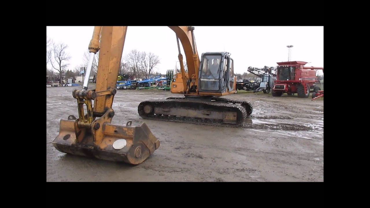 1995 case 9030b excavator for sale sold at auction june 12 2014 rh youtube com Case 9030B Paint Case Excavator Specifications