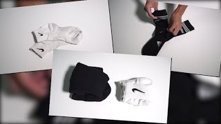 唔想啲襪摺到鬆泡泡? 一分鐘學識簡單新摺法