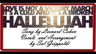 Hallelujah By Sal Grippaldi
