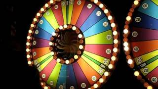 Spin & Win game at Dave & Busters!.