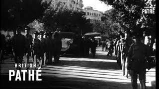 Israel Buries Jews Killed By Nazis (1949)