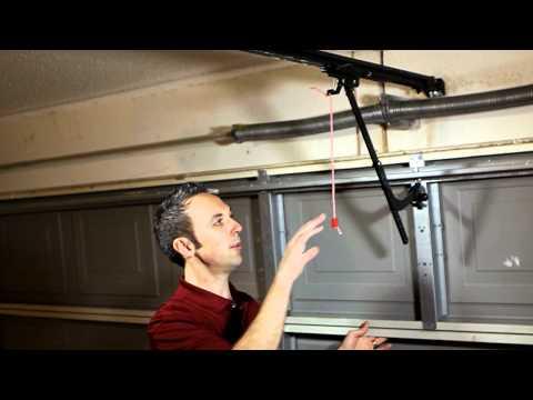 Manual Disengage For LiftMaster/Sears Garage Door Opener