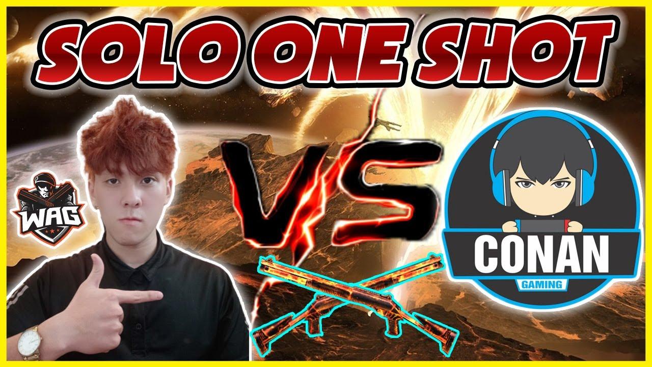 [ Free Fire ] Trận Đấu OneShot M1014 Tiếp Theo Tại Việt Nam Giữa Học Mõm Vs Conan Gaming - Học Mõm