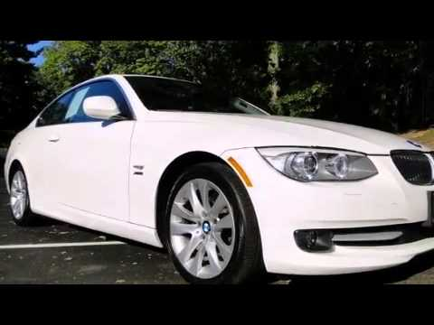 Used 2011 BMW 328i xDrive Coupe WhiteSaddle 1 owner Clean C  YouTube