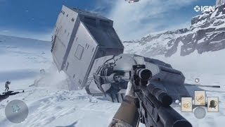 Star Wars Battlefront All Trailers/Gameplay! 1080p Gameplay Video!