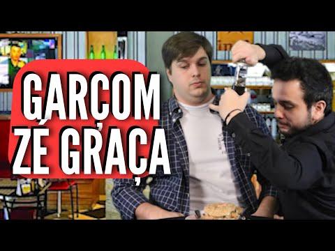 GARÇOM ZÉ GRAÇA - ROMINHO BRAGA SHOW Participação Lucas Salles