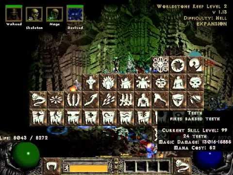 Necromancer Build Diablo  Lord Of Destruction