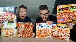 PIZZA vs BIO PIZZA vs PIZZA - Welche schmeckt am BESTEN? | Johnny Hand und Aleks
