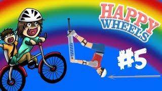 L'ACROBAZIA PIU' EPICA DI SEMPRE!!! - Happy Wheels [Ep.5]