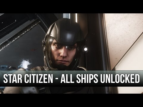 Star Citizen - Exploring All Ships In Multiplayer