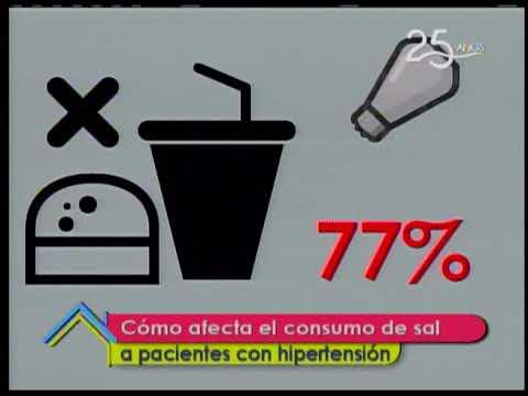 Cómo afecta el consumo de sal a pacientes con hipertensión