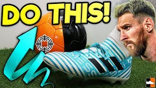 How To Shoot Like Lionel Messi! Can You Do It?