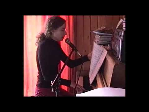 Georgina Downs – Playing and singing some songs at home on 28th February 2004