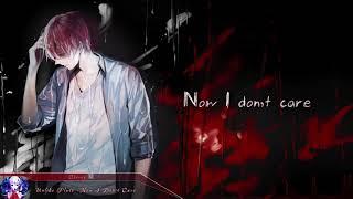 Nightcore - Now I Don't Care (Unlike Pluto) | (Lyrics)