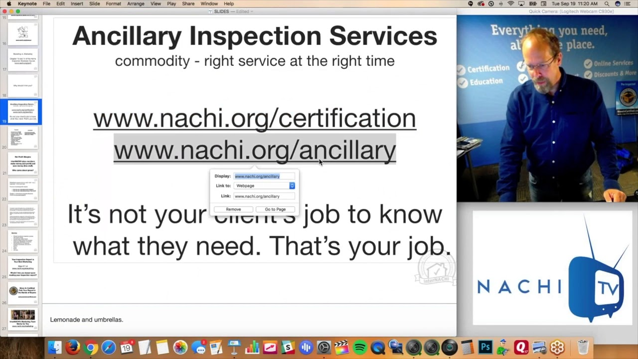 More 45 Ancillary Inspection Certifications Are Discussed In