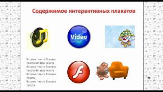 Создание интерактивных плакатов в программе Microsoft PowerPoint
