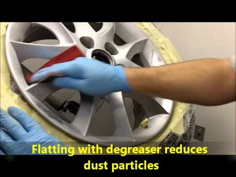Cosmetic Alloy Wheel Repair, alloy wheel training course, Eco Express