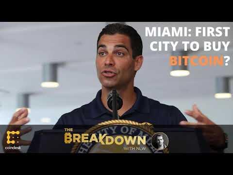 Will Mayor Suarez's Miami Be The First Major City To Buy Bitcoin?