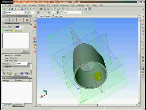 ee3473d288c 3D CAD with Synchronous Technology, change your design quickly - YouTube