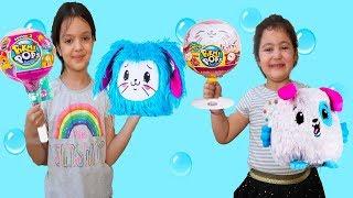 ÇOCUKLARIN ODASINDAN GELEN GİZEMLİ SESLER -Kids Pretend Play Giant Pikmi Pops Surprise Lollipop
