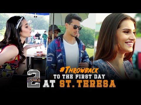 SOTY2   Throwback To The First Day At St.Teresa   Tiger Shroff   Tara   Ananya