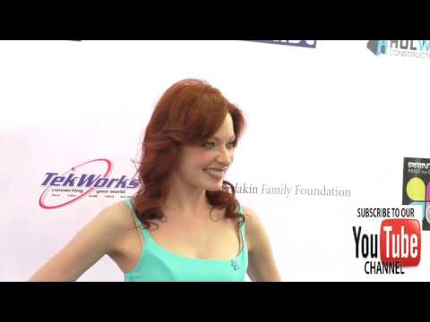 Elizabeth J  Carlisle at the 4th Annual Ed Asner And Friends Poker Tournament For Autism Speaks at S