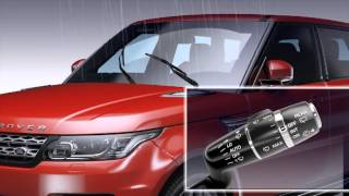 How to use the windscreen wipers - Range Rover Sport (2013)