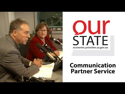 OurState: Communication Partner Service
