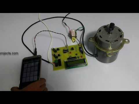 Induction Motor Speed And Direction Controller Project
