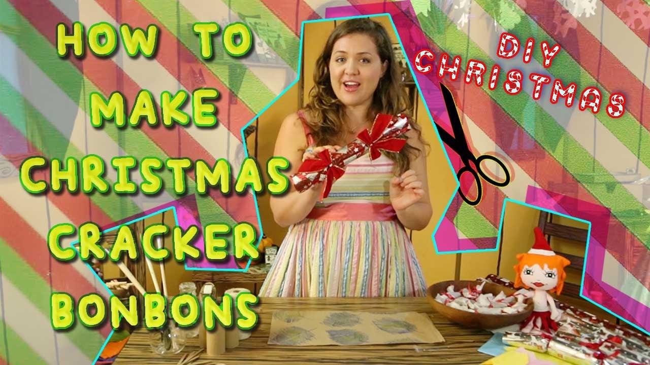 How To Make Christmas Crackers Xmas Bonbons Beetle