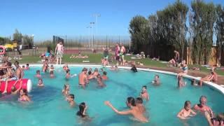 Swimming at Playa Brava - Pals, Spain