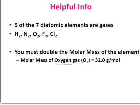 8.6 Molar Volume at STP
