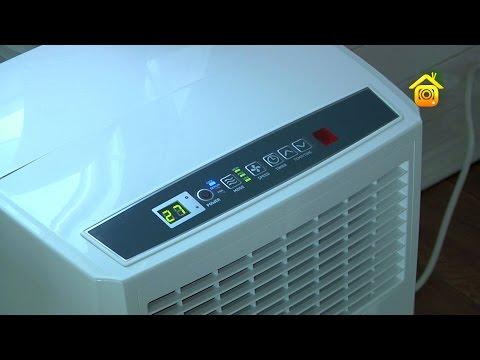 Как установить мобильный кондиционер в квартире с пластиковыми окнами видео