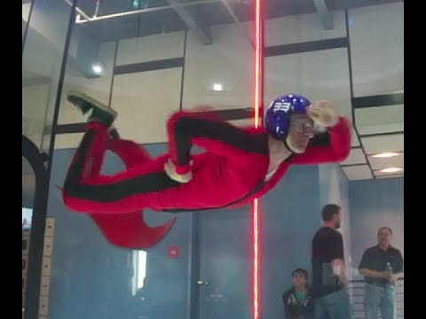 iFly Indoor Skydiving Wind Tunnel Practice. Pre AFF training. 1hr progression. 17of24. 033115 1208