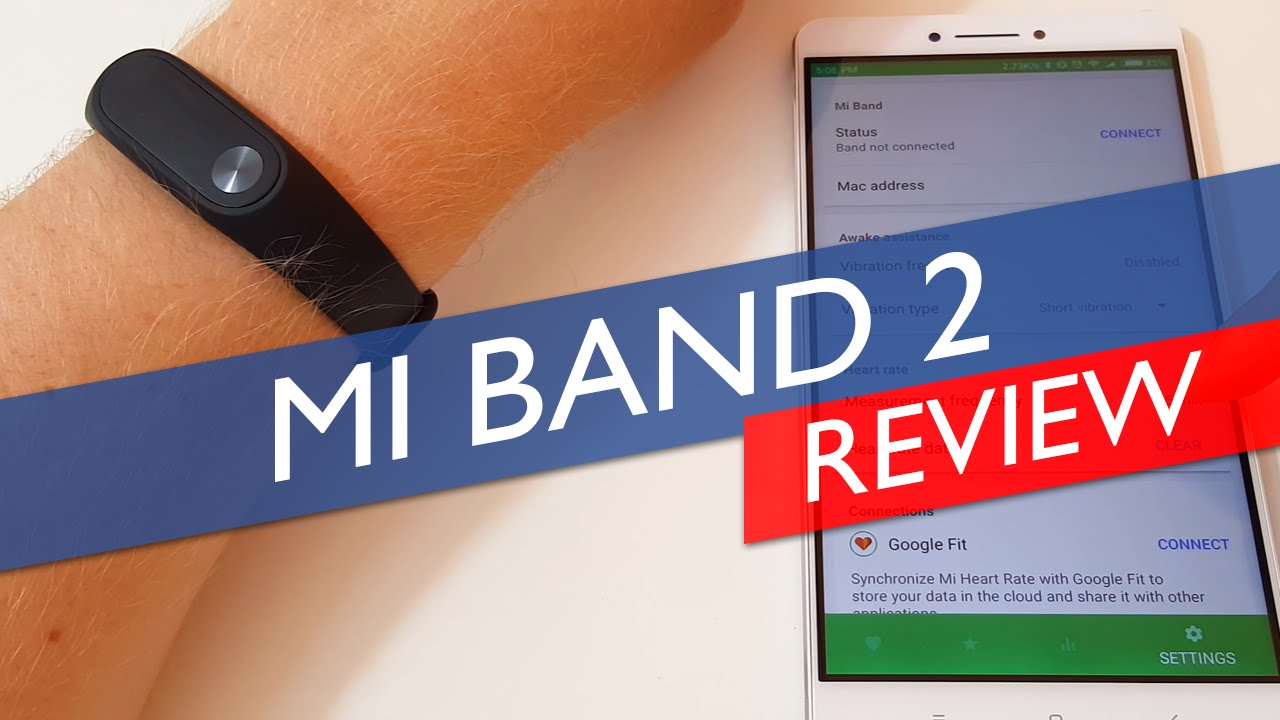 Mi Band 2 After 2 Days & 3rd Party Support for HR